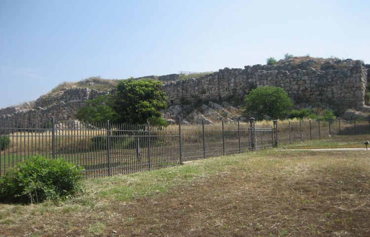 Ancient Acropolis Of Tiryns